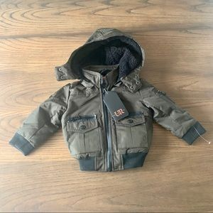 Urban Republic Ballistic Lined Hooded Jacket